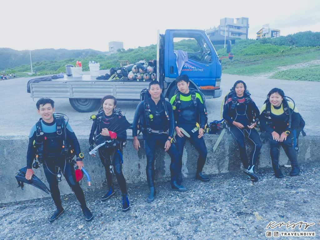 綠島潛水 開放水域潛水員課程