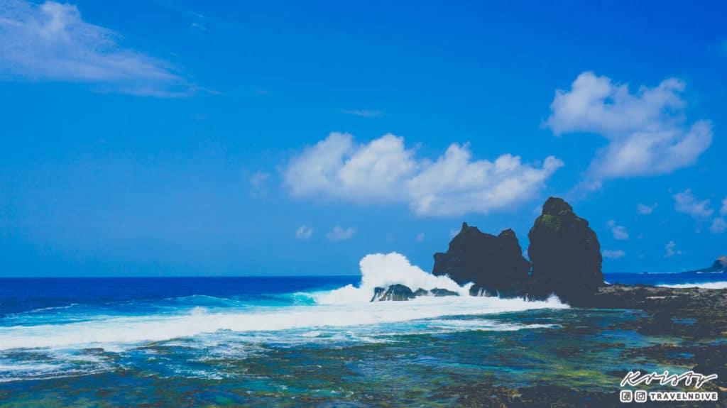 綠島 生態 海邊